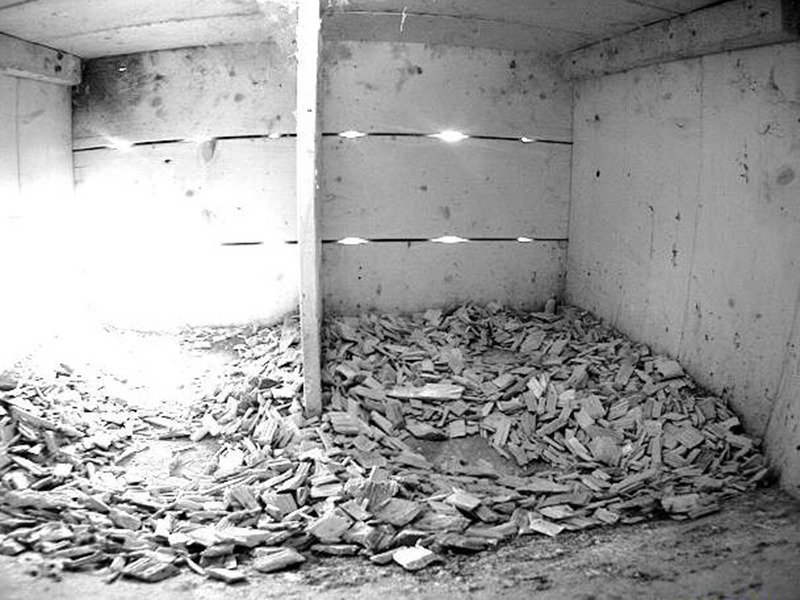 12.4.2021 Dieser Nistkasten ist aktuell noch leer. Die vorbereiteten Nistmulden weisen jedoch auf ein mögliches Brutgeschäft von Turmfalken hin.